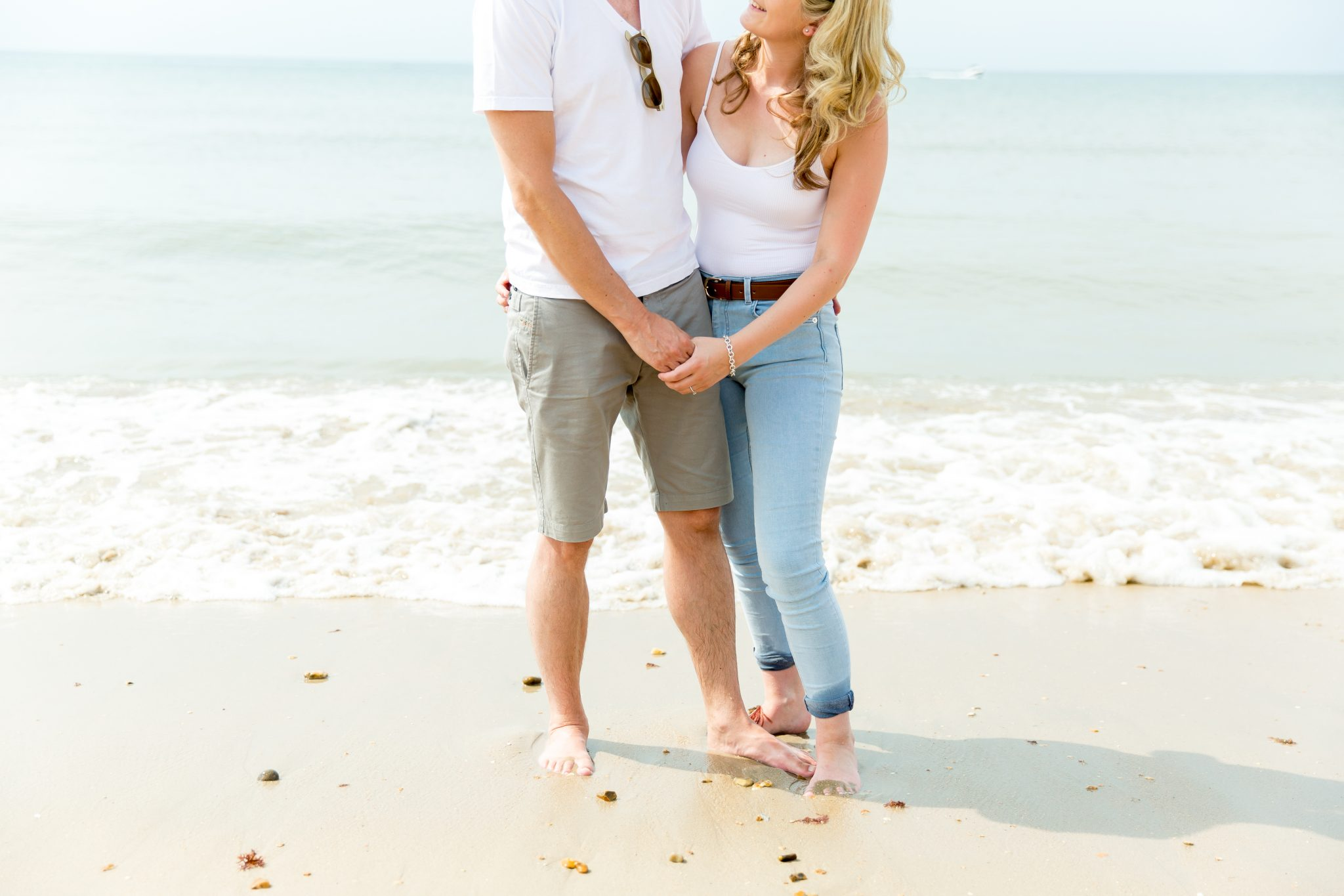 New Forest Wedding Photographer Pre Wedding Shoot at the Beach