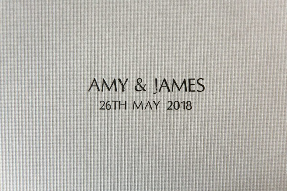 Close-up-on-Laser-Etching-on-the-Box-containing-Luxury-Wedding-album