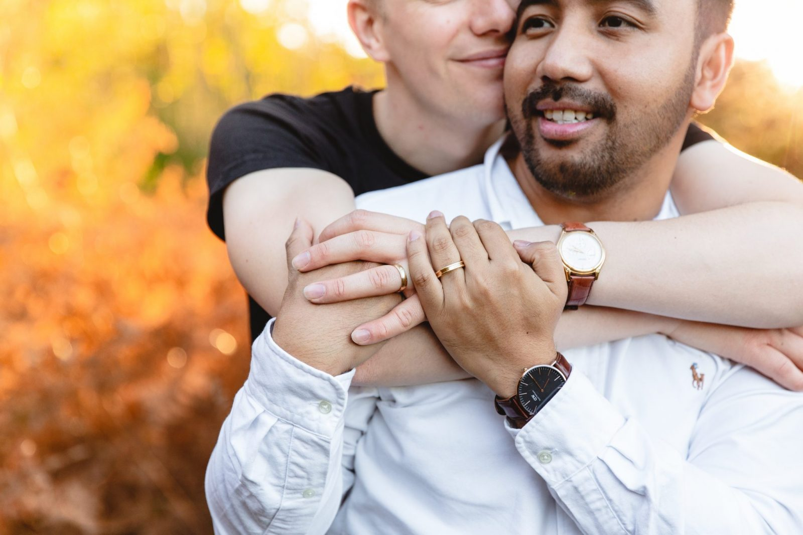 Same Sex Engagement Shoot in the New Forest