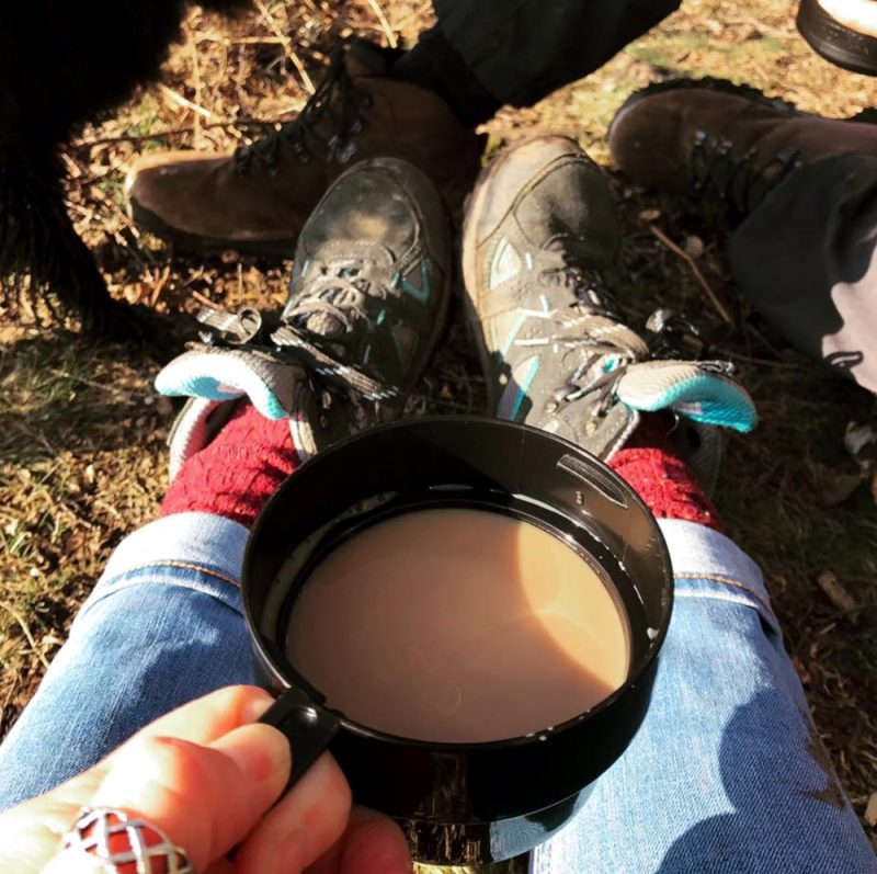 camping-tea-in-the-new-forest