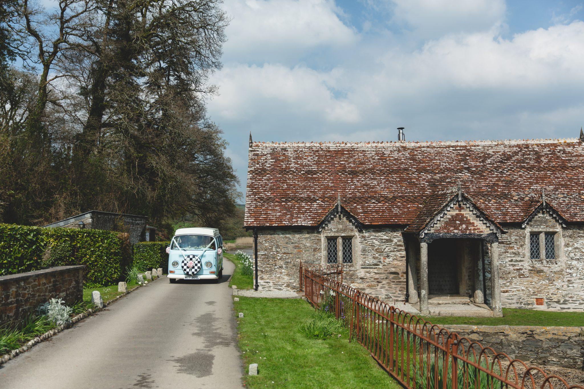 Pentillie Castle Wedding Venue Bathing Hut