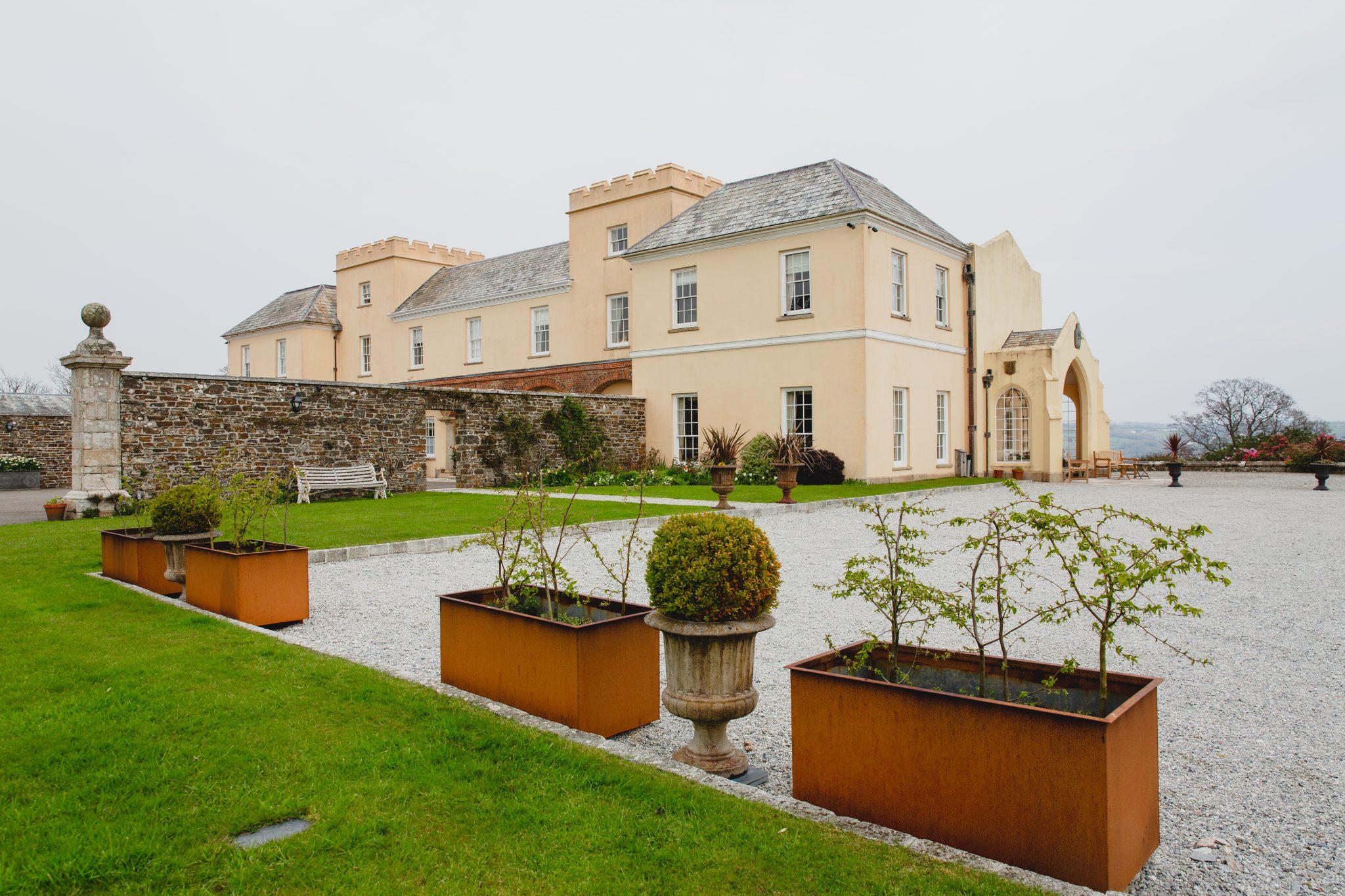 Pentillie Castle Wedding Venue Grounds